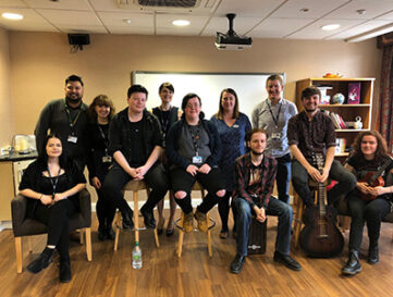 Music students add dementia therapy to their bow