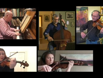 Improvised tune using four notes performed by BBC Philharmonic