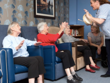 Embedding music into personalised dementia care plans