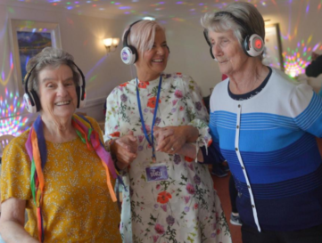 Silent disco brings respite to people living with dementia