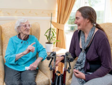 The power of music seen in care homes
