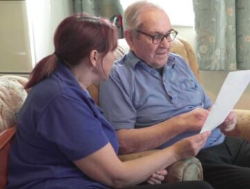 Reg and Beryls story – Reliving memories together through a digital mirror of the past!